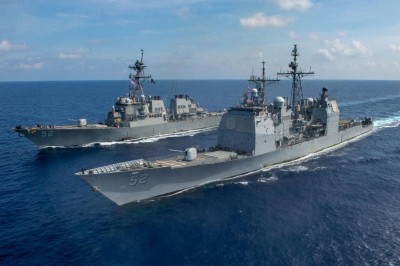 US deploys warships in Taiwan strait on 2021 eve: Caustic message to China