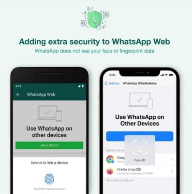 WhatsApp adds additional security layer to link account to PCs