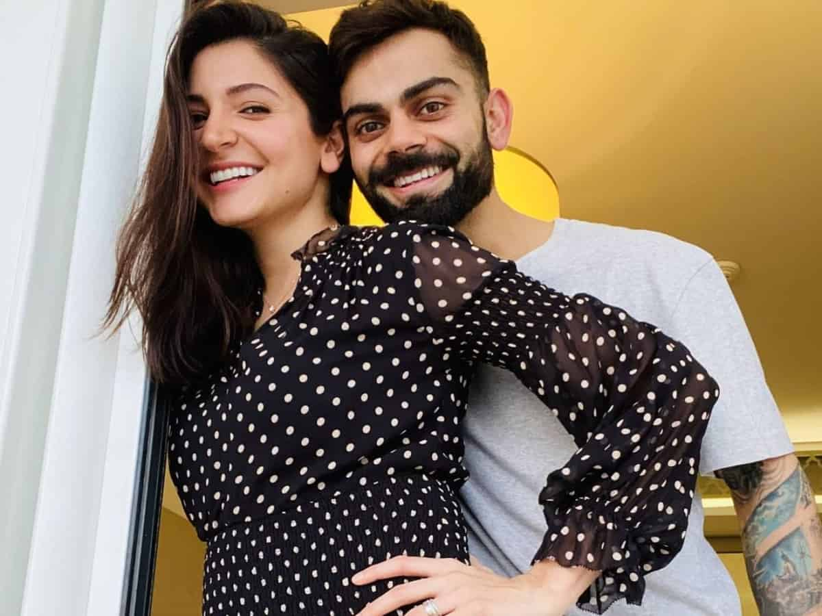 First picture of Virat Kohli, Anushka Sharma's baby girl, check out
