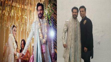 Karan Johar pens heartfelt note for newlyweds Varun Dhawan, Natasha Dalal