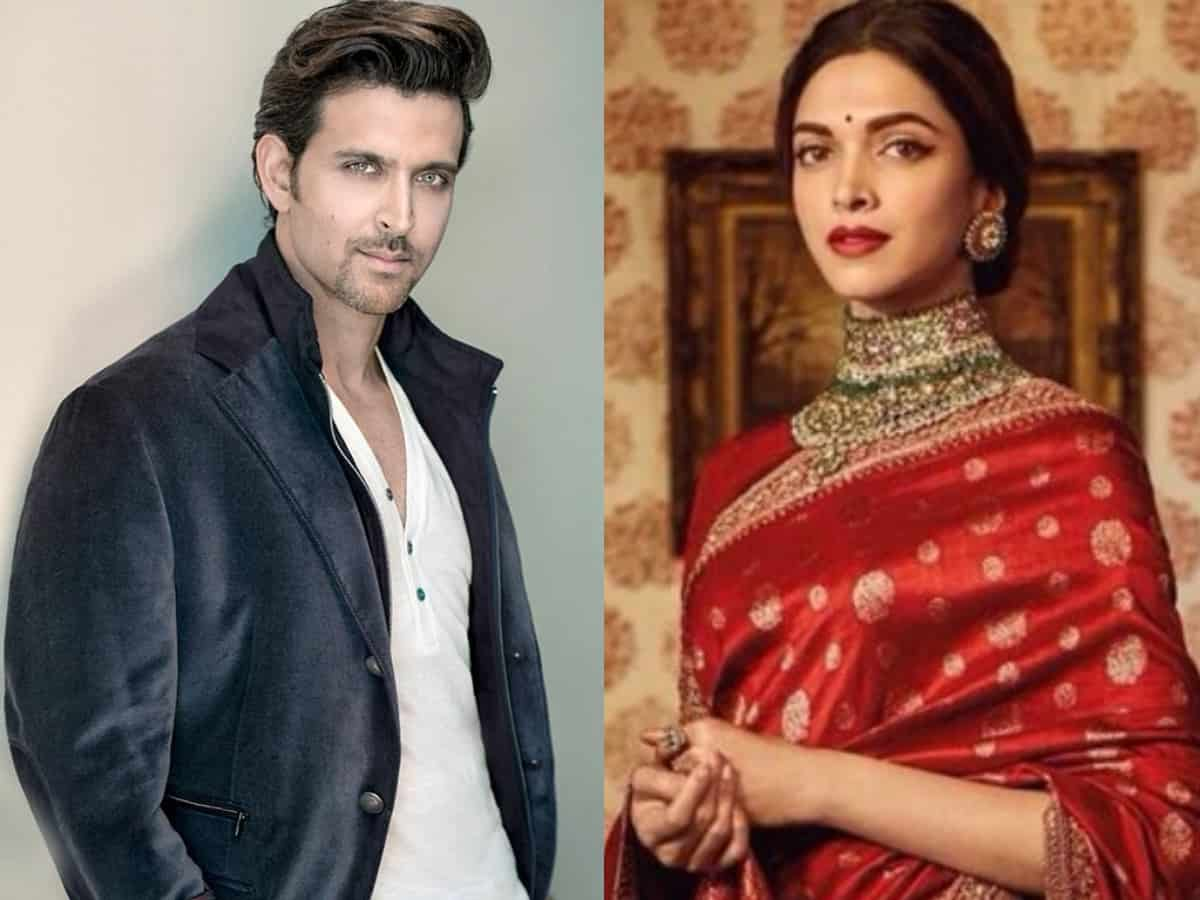 Hrithik Roshan, Deepika Padukone to play Ram and Sita in Ramayana