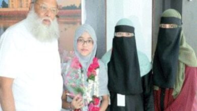 Felicition of a 12 years old girl for Memorizing Quran