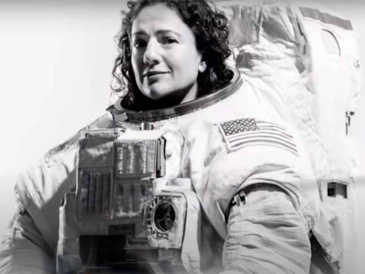first woman to land on moon