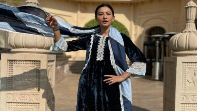 Newly married Gauahar Khan looks 'ethereal in ethnic' during her Udaipur vacay