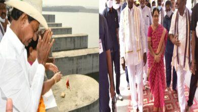 Telangana: KCR on a day-long visit to Kaleshwaram project