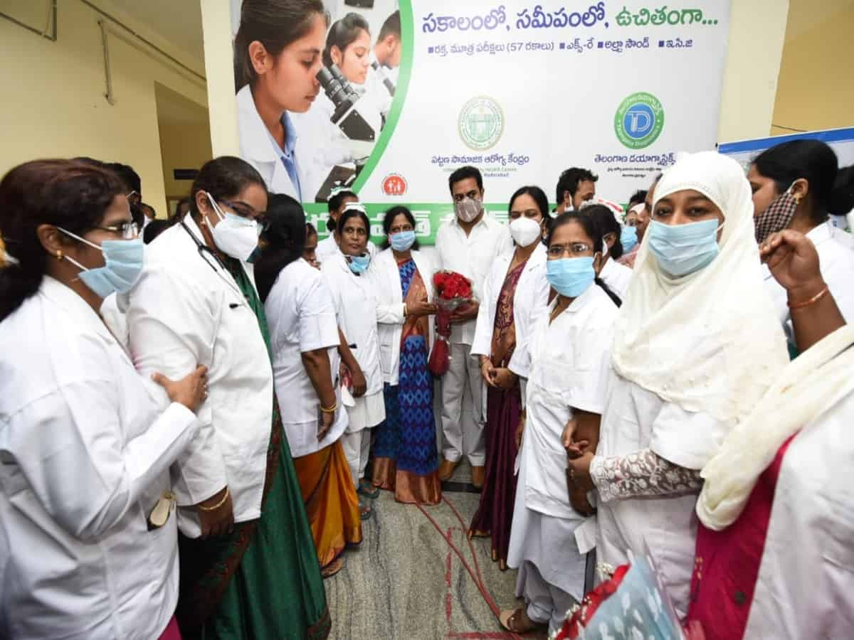 Eight mini hubs for Telangana Diagnostics launched today