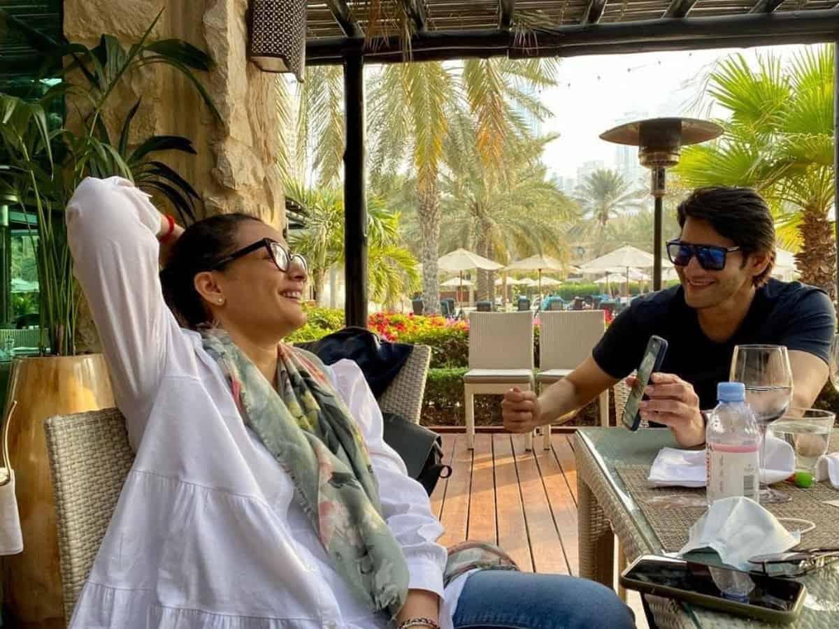 10 Pictures from Mahesh Babu's Dubai holiday with Namrata Shirodhkar and kids