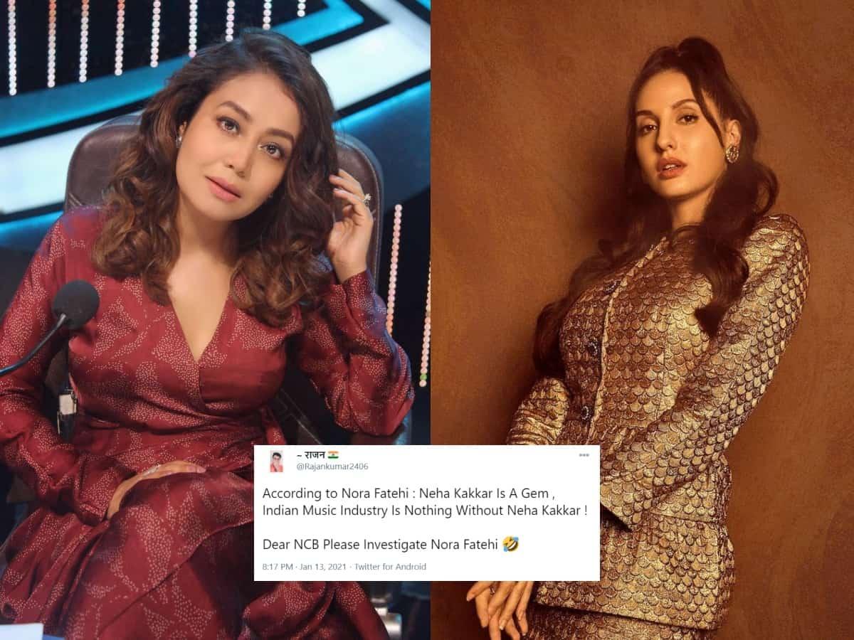 Nora Fatehi gets hilariously trolled for saying 'Neha Kakkar k bina music industry kuch nahi hai'
