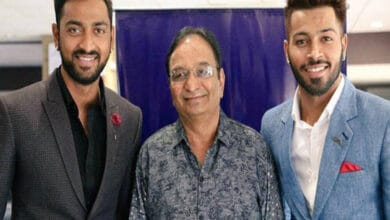 Hardik Pandya's father Himanhu Pandya passes away