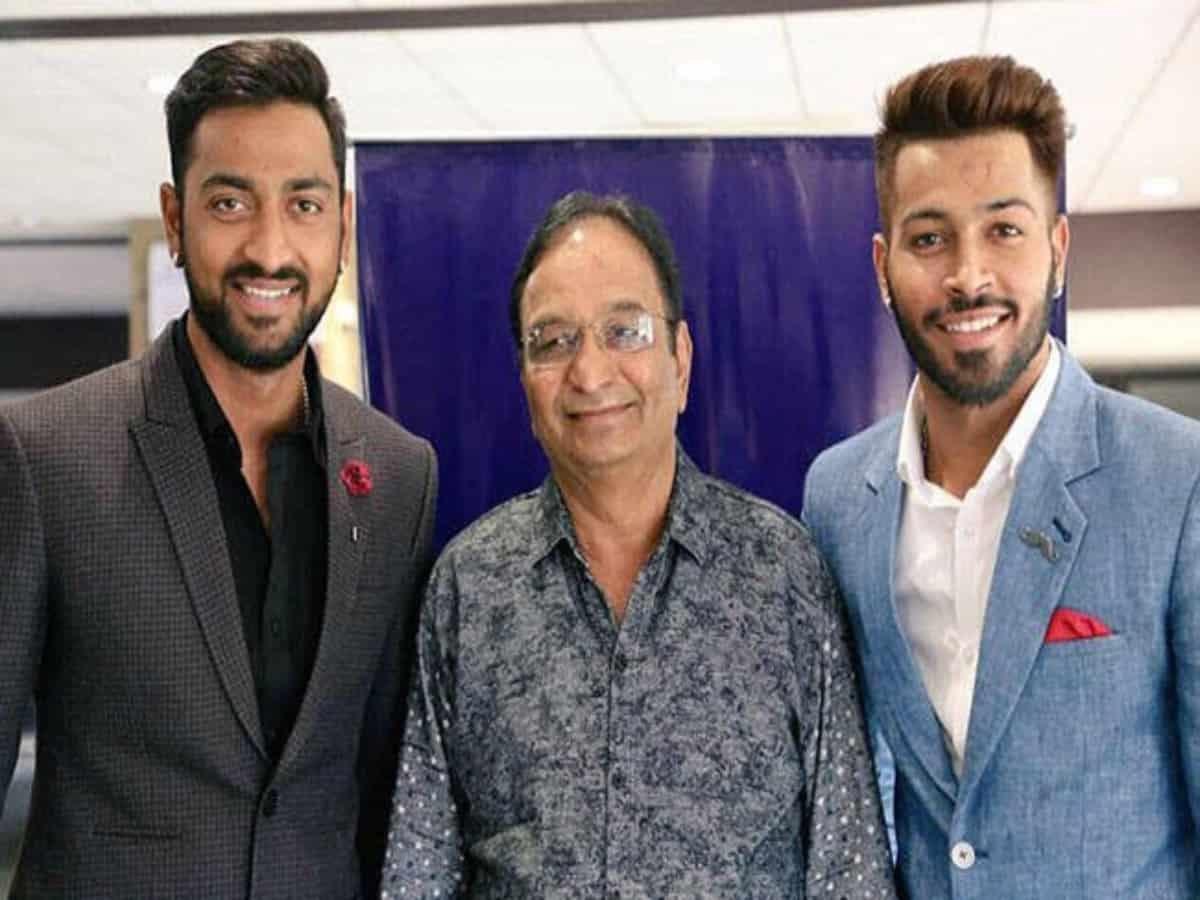 Hardik Pandya's father Himanhu Pandya passes away