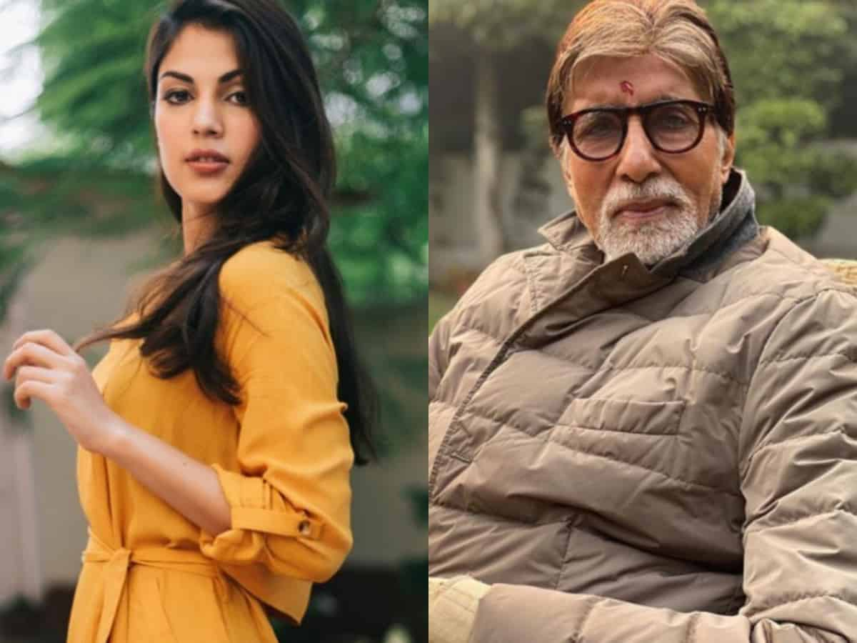 Rhea Chakraborty to make a comeback alongside Amitabh Bachchan