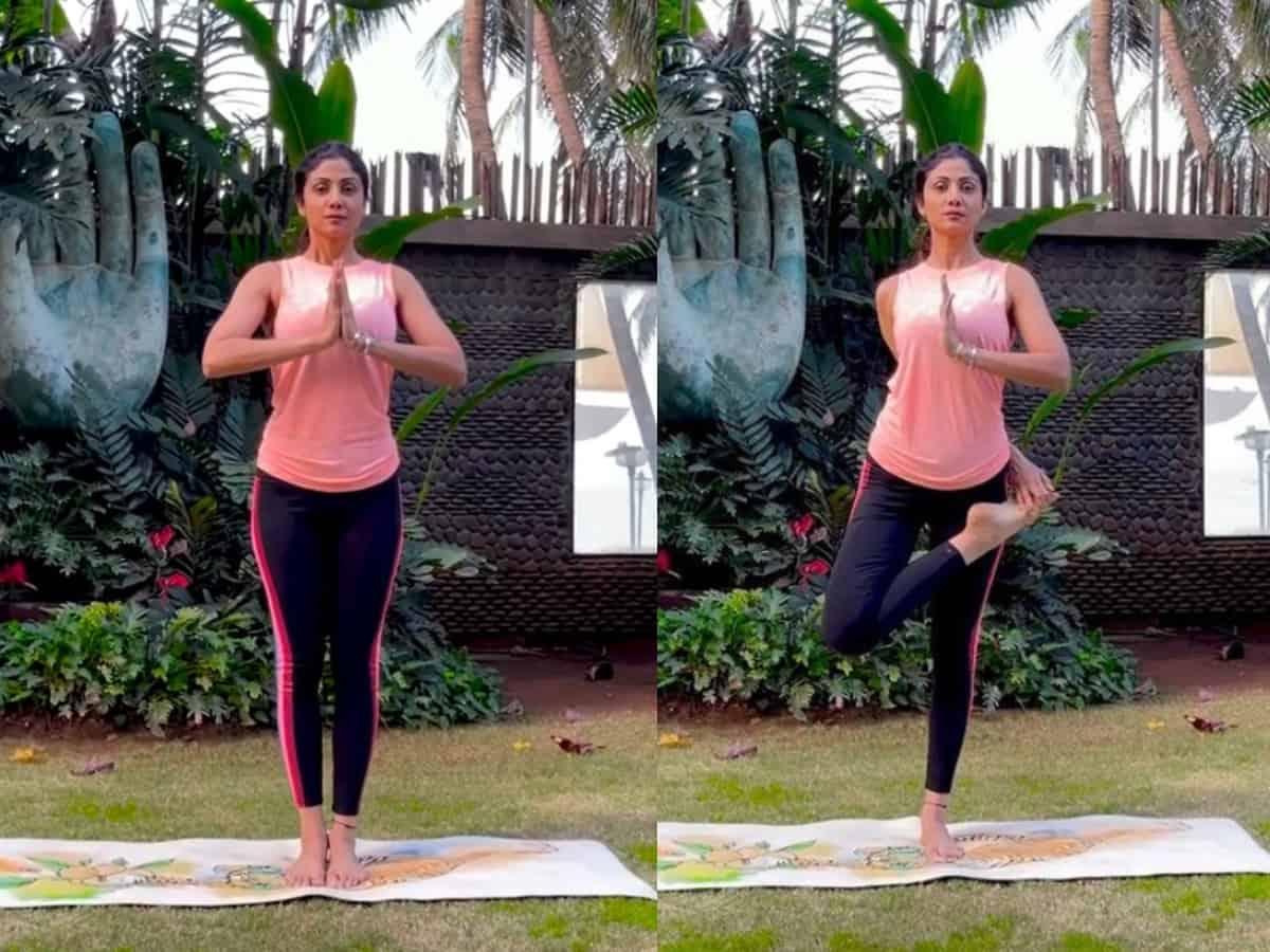 [VIDEO] Shilpa Shetty shares best Yoga tips for winter