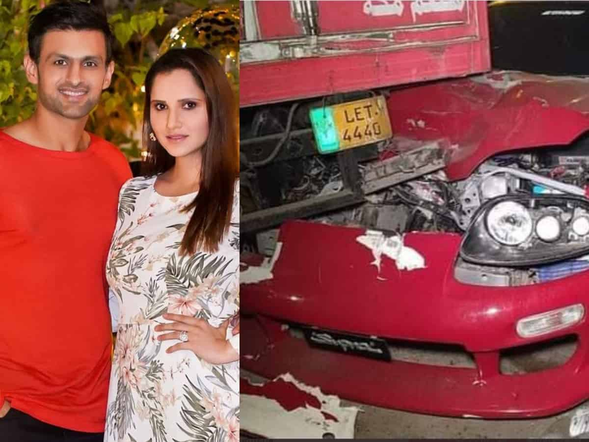 Watch: Pakistan cricketer Shoaib Malik suffers horrific car accident in Lahore