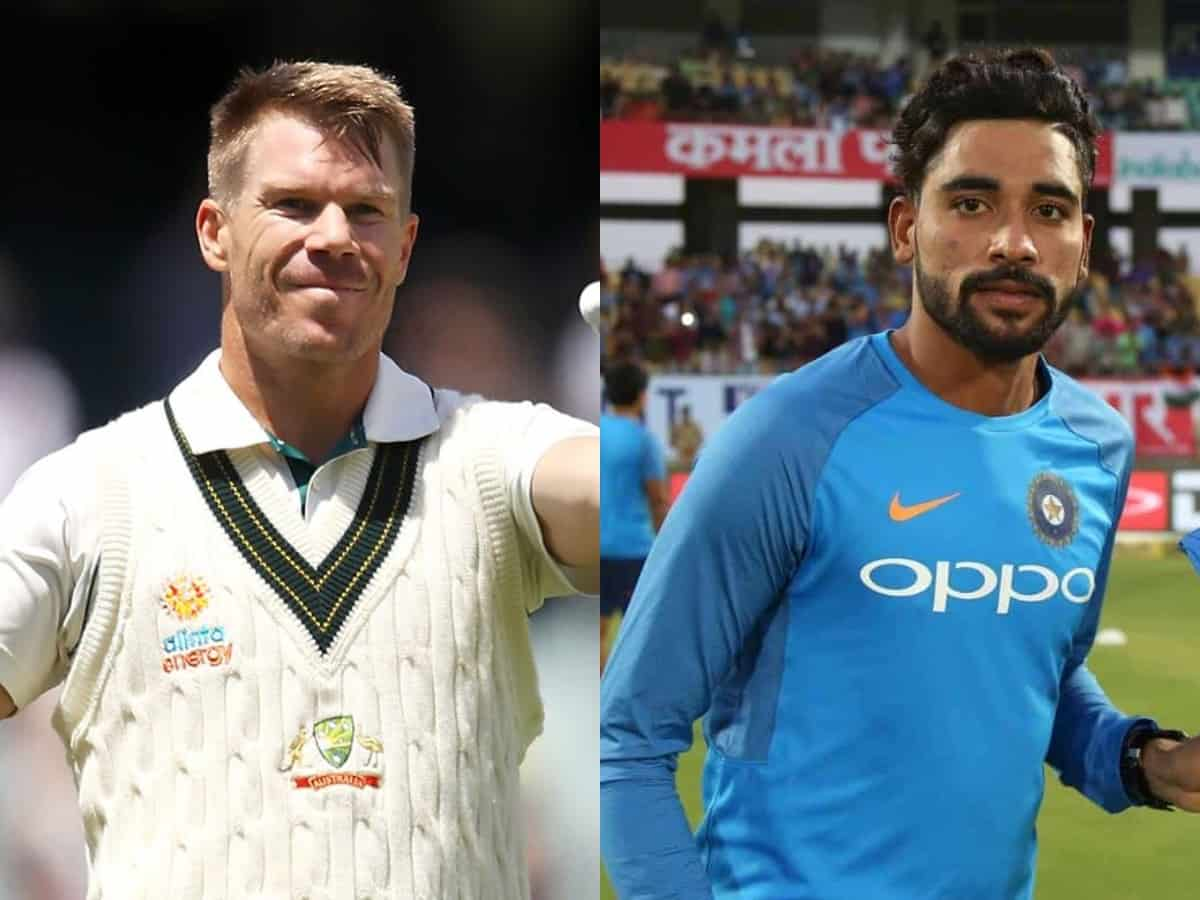'Would expect better from our home crowd', Warner apologizes to Siraj on racism row
