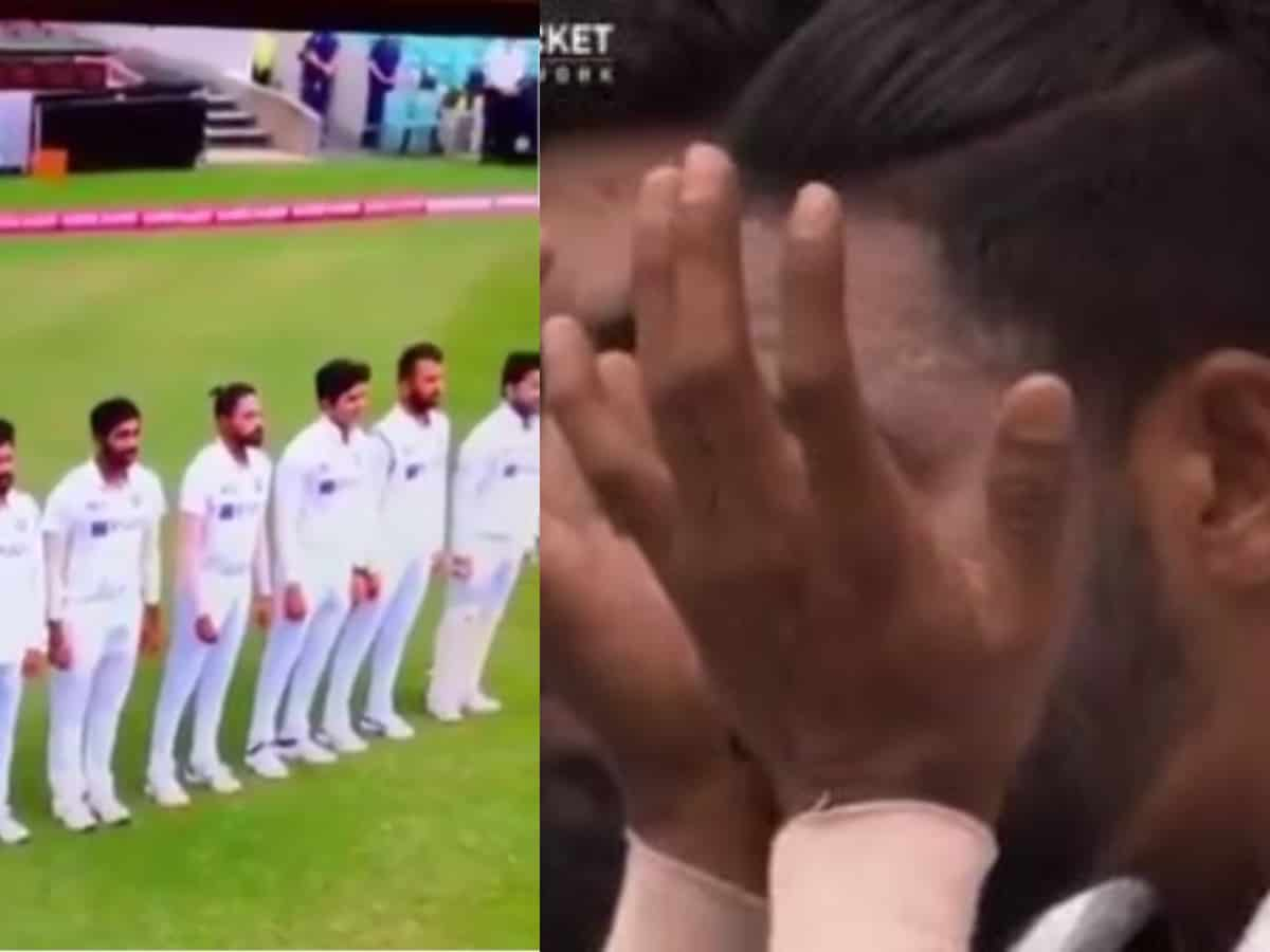 Watch: Siraj gets emotional while singing national anthem at MCG