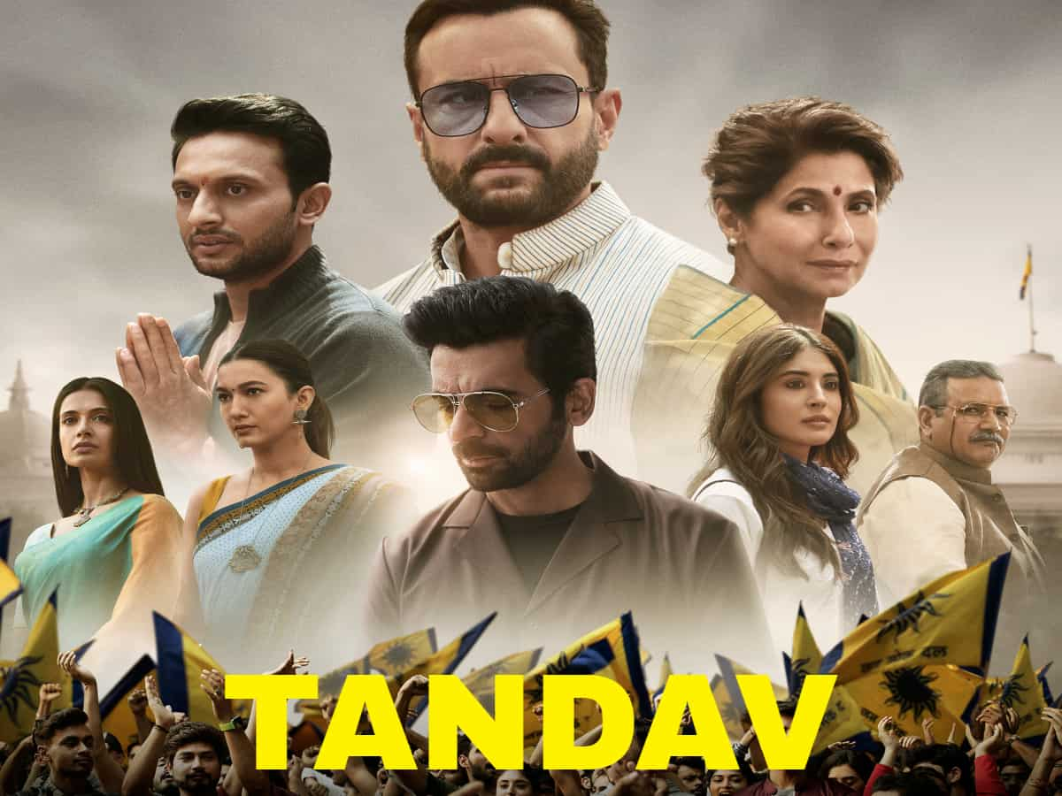 Tandav controversy: Fir filed against makers of Saif Ali Khan starrer web series