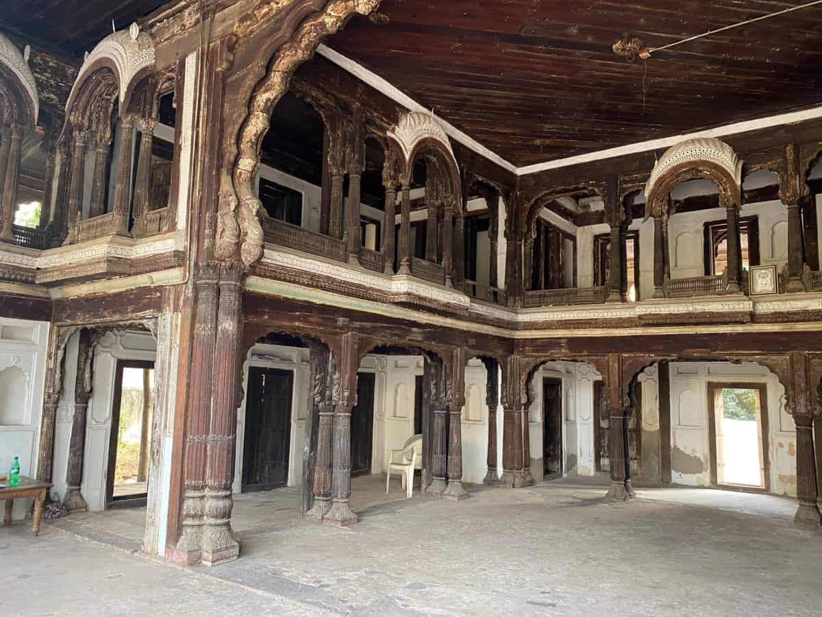 wooden palace in Hyderabad