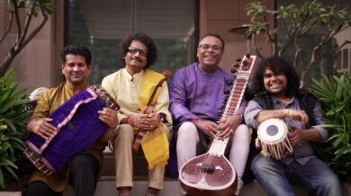 A confluence of Carnatic and Hindustani music at this concert