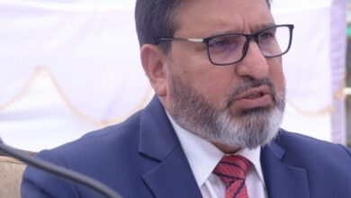 Altaf Bukhari takes exception to Mehbooba Mufti's statement