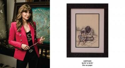 Artist Michelle Poonawalla exhibits series on companionship