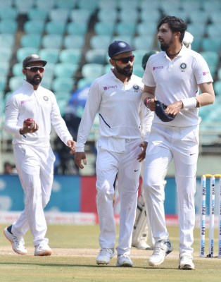 Being old friends, we trust each other: Kohli on Ishant Sharma