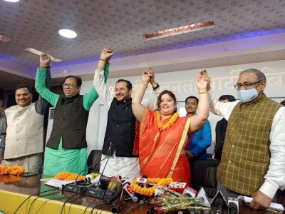 Bihar minister Bablu's wife leaves LJP to join the BJP