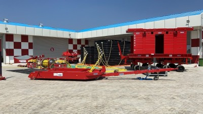 Disabled aircraft recovery kit installed at Bengaluru airport