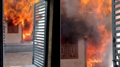 Hyderabad: Massive fire engulfs school in Gowlipura