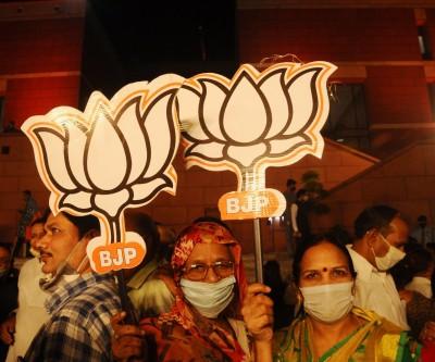 Guj civic polls result victory of Modi's development politics: BJP