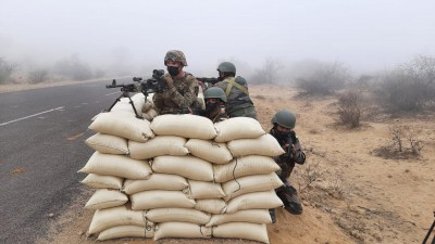 India, US soldiers hold joint counter-terrorism drill in desert