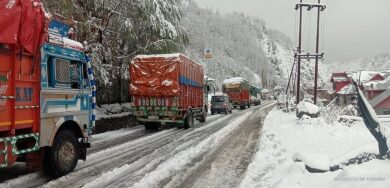 Landslides force closure of Jammu-Srinagar NH