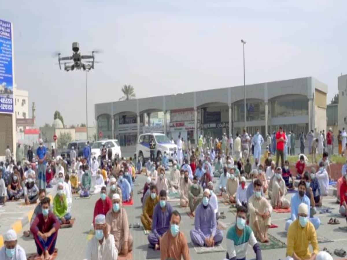 UAE: Sharjah police use drones for COVID-19 awareness