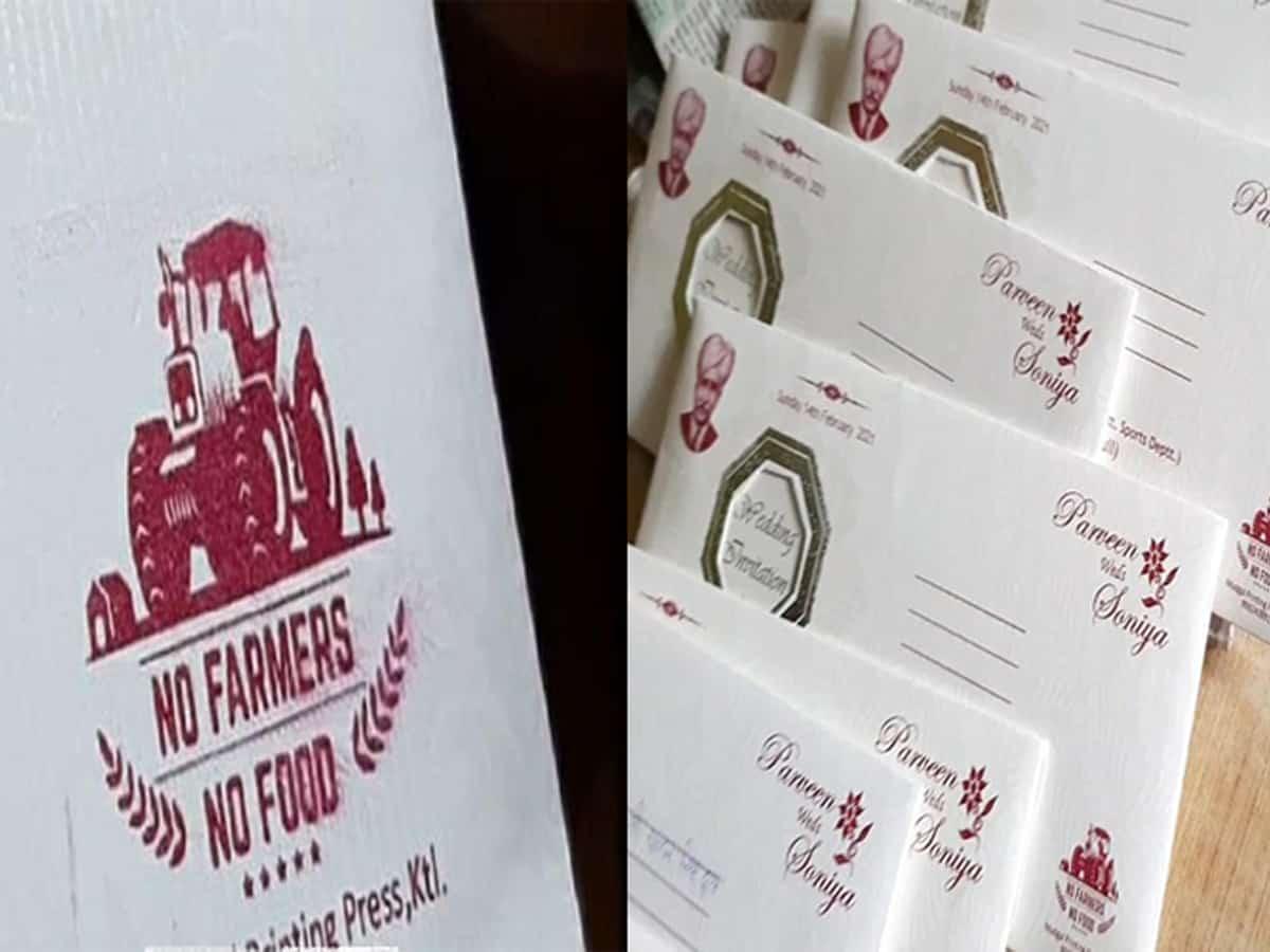Image result for no farmers no food wedding card