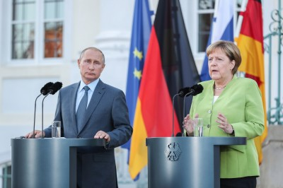 Nord Stream 2 project unaffected by Navalny case: Merkel
