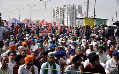 Now, engagement ceremonies at Delhi's borders amid farm protest