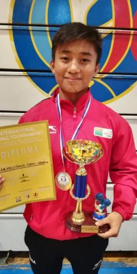 Promising Babyrojisana learns Hindi to become better boxer