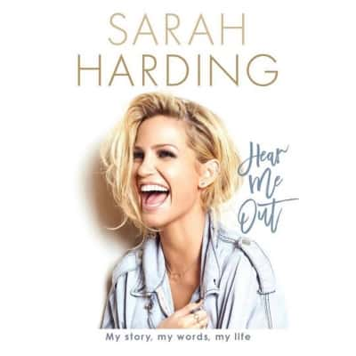 Sarah Harding's autobiography on stands in March