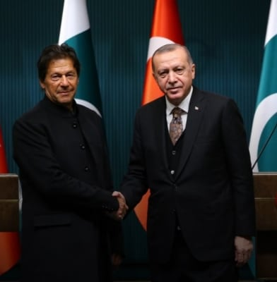 Turkey joins hands with Pakistan to spread unrest in India