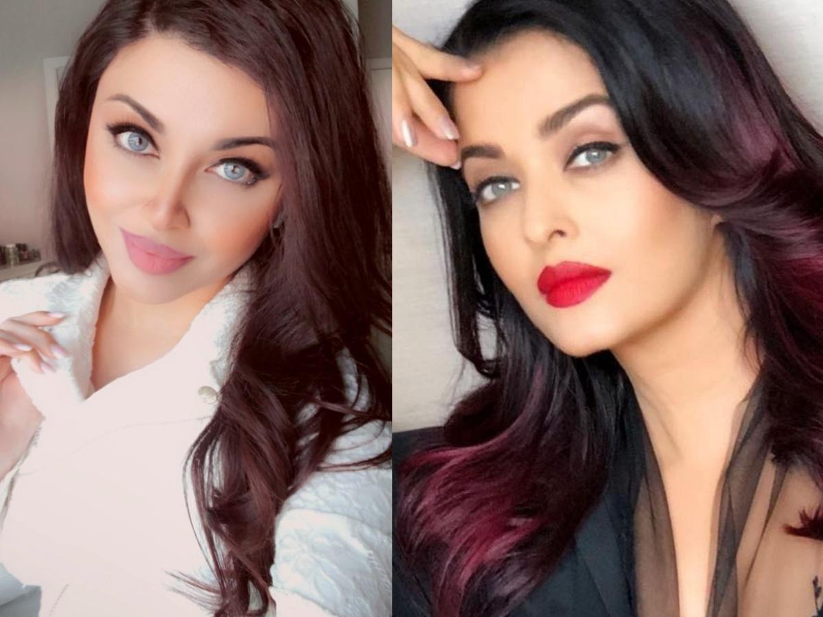 Doppelganger alert! Blogger Aamna Imran exactly resembles Aishwarya Rai