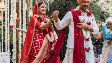 Dia Mirza marries Vaibhav Rekhi, pictures videos from her private ceremony