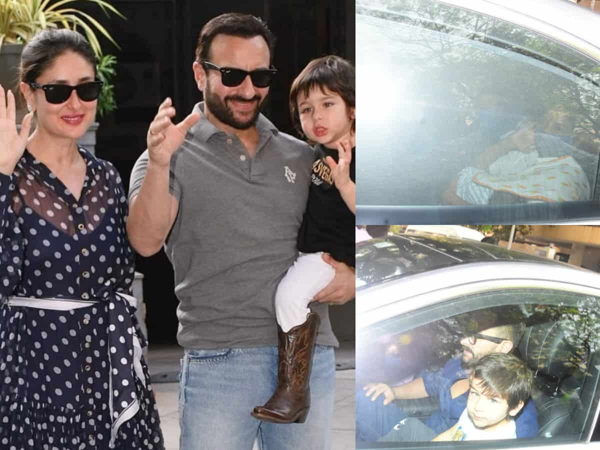 Paparazzi captures Kareena, Saif's second baby despite their privacy requests, see pics
