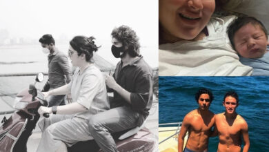 Viral pics: Kareena's pic with newborn; Vijay Devarakonda's scooty ride in Mumbai; SRK at Gateway of India