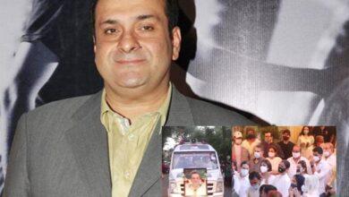 Watch: Rajiv Kapoor's final rites performed in Mumbai
