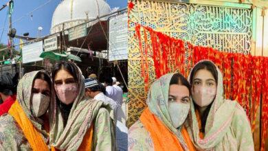 Viral pics: Sara Ali Khan visits Ajmer Dargah with mom Amrita Singh