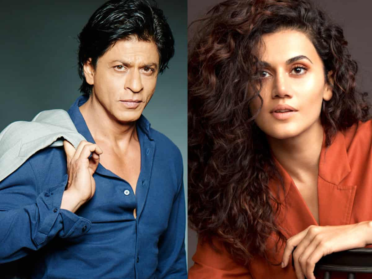 Shah Rukh Khan, Taapsee Pannu to share screen space for the first time
