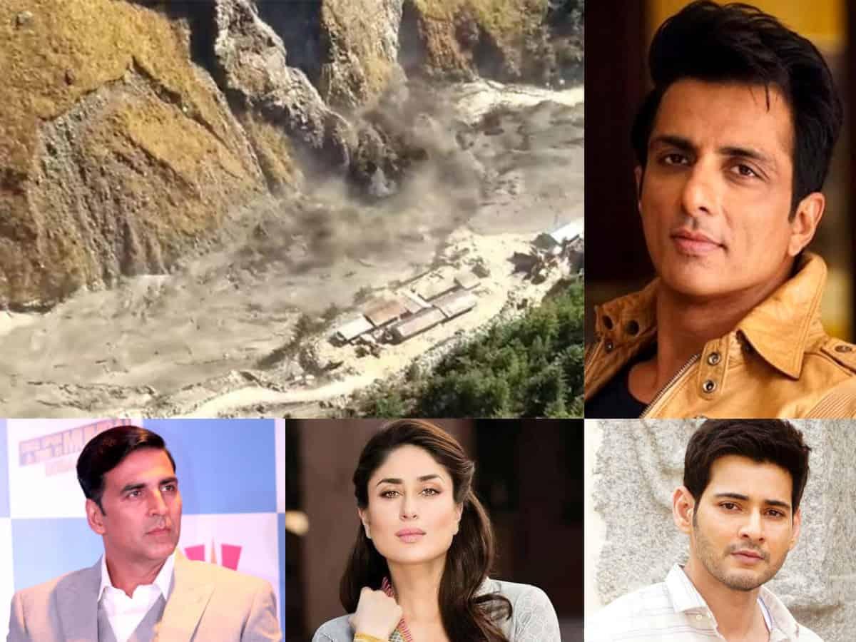Uttarakhand glacier burst: Sonu Sood, Mahesh Babu & others send prayers for victims