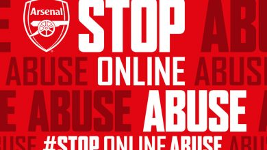 Arsenal launches #StopOnlineAbuse campaign