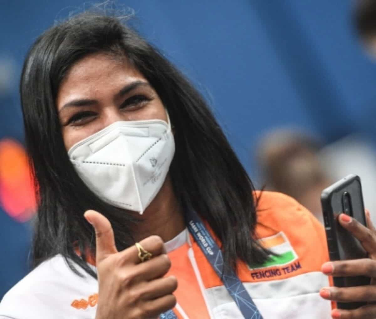 Bhavani Devi first-ever Indian fencer to qualify for Olympics