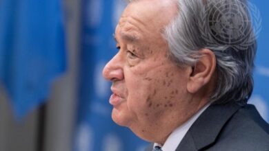 Guterres asks for transition from coal to renewable energy