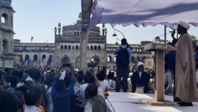 Huge protest against Shia Waqf ex-chief in Lucknow Imambara